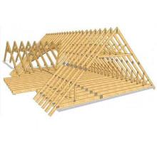Стропила для крыши 100х100, д. 4,5-6