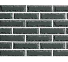 Облицовочный кирпич Фагот | Крымский | двухугловой | серый