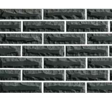 Облицовочный кирпич Фагот | луч 110 | пустотелый | серый