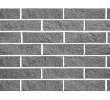Облицовочный кирпич Фагот | мраморный 60 | светло-серый