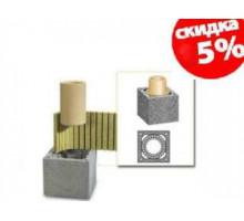 Керамический дымоход Schiedel UNI | Одноходовой | без вентиляции | диаметр 14