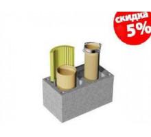 Керамический дымоход Schiedel UNI | двухходовой | без вентиляции | диаметр 14:14