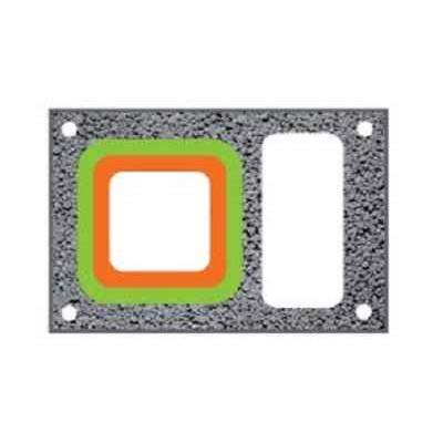 Керамический дымоход | PLEWA UNI FE |одноходовой | с вентиляцией | диаметр 18