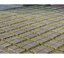 Тротуарная плитка | Золотой Мандарин | Решетка Эко | Высота 80 мм