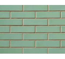 Облицовочный кирпич СБК глазурованный зеленый