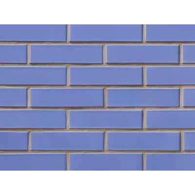 Облицовочный кирпич СБК глазурованный синий