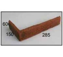 Декоративная плитка | золотой мандарин | калифорния | угловой элемент