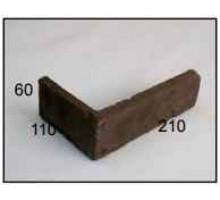 Декоративная плитка | золотой мандарин | клинкер | угловой элемент