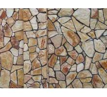 Декоративная плитка   золотой мандарин   песчаник   200х100