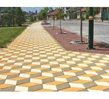 Тротуарная плитка | Золотой Мандарин | Ромб