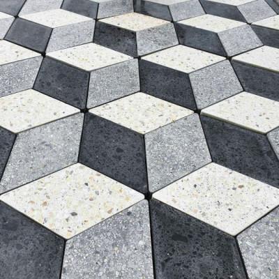 Золотой Мандарин / Тротуарная плитка Ромб