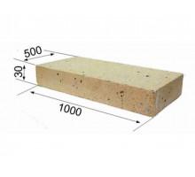 Огнеупорная плита RATH 1000х500х30