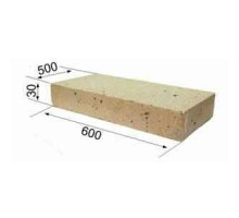 Огнеупорная плита RATH 600х500х30