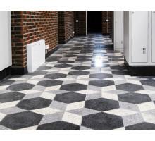 Тротуарная плитка | Золотой Мандарин | Сота большая полированная, высота 23 мм