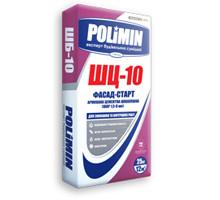 Шпаклевка Polimin ШЦ-10 фасад-старт (армированная цементная)