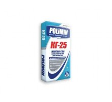 Клей для плитки Polimin | КГ-25 монтаж-гипс