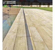 Тротуарная плитка | Золотой Мандарин | Террасная плитка Терраса 1200х210| Высота 40 мм