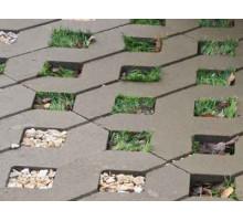 Тротуарная плитка | Золотой Мандарин | Решетка парковочная | Высота 80 мм