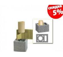 Керамический дымоход Schiedel UNI | Одноходовой | с вентиляцией | диаметр 14